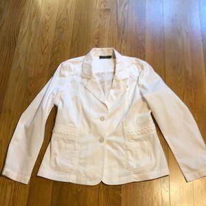 Tribal white jacket size 14
